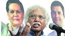 Madhusudan Mistry was forced to end his speech abruptly.