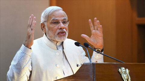 Prime Minister Narendra Modi is using Twitter as a power tool to broadcast his messages. (Source: PTI)