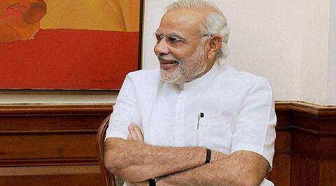 The Prime Minister's special aircraft from New Delhi is expected to land here at around 3.55 pm. (Source: PTI photo)