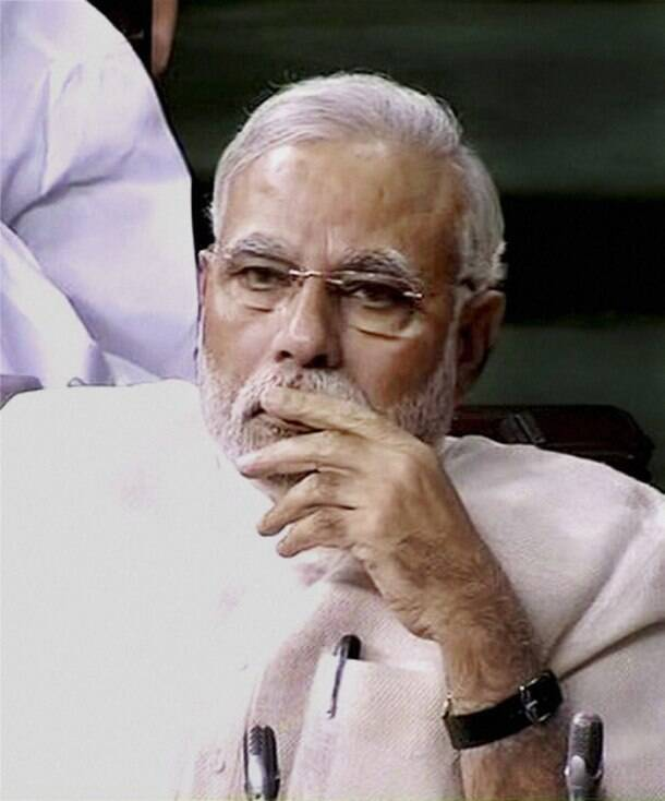 Today in pics: Narendra Modi's first speech in Lok Sabha