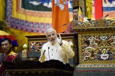 PM Narendra Modi addresses Bhutan Parliament