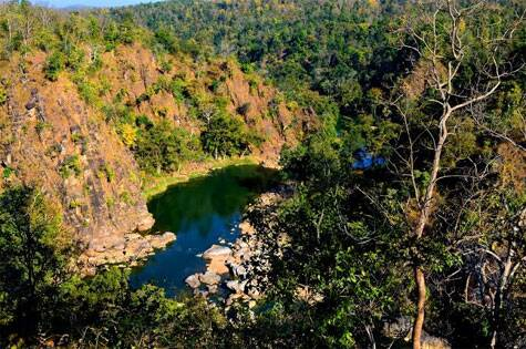Breathtakingly scenic with streams and remnants of the Sona Rani palace, similar settings in the Jungle Book TV could be spotted. This place additionally, is a local picnic hotspot for people | Source: Swasti Pachauri
