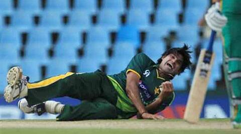 Irfan is seen as a vital part of Pakistan's pace attack for the coming World Cup in 2015 (Source: AP)