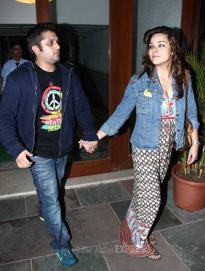 Director Mohit Suri was accompanied by his wife and actress Udita Goswami. (Source: Varinder Chawla)