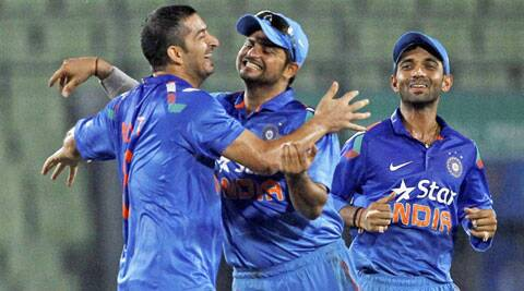 Suresh Raina's boys will now go for the jugular in the final match of the series to end on a high (Source: AP)
