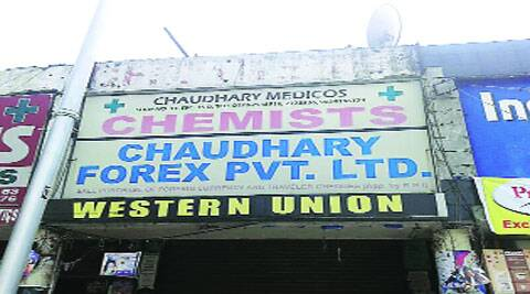 Shop in Sector 15,  Chandigarh.(Source: Express archives)