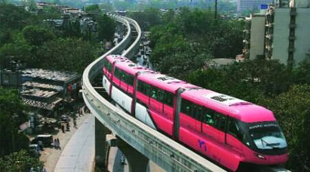 Mumbai monorail service disrupted; 11 stranded passengersrescued