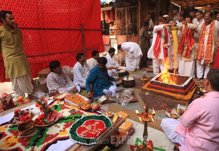Mumbai MLA organises 'mahayagna' to please the god of rain