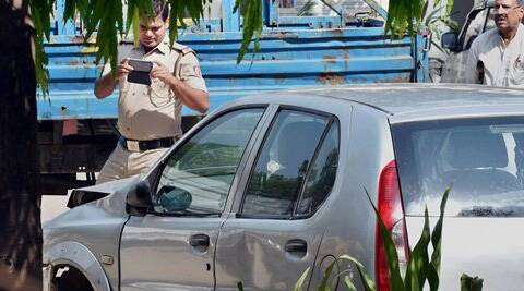 Union Minister Gopinath Munde died apparently of a cardiac arrest after his car was hit by another vehicle on Tuesday morning. (Source: PTI)