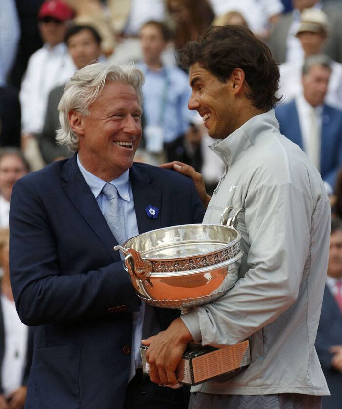 The world number one from Spain became the first man to win five successive titles at Roland Garros to take his overall grand slam tally to 14 — three short of Roger Federer's record (Source: Reuters)