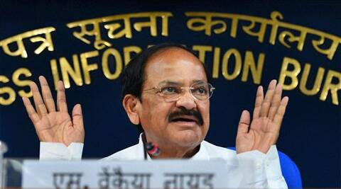 Parliamentary Affairs Minister M Venkaiah Naidu. (Sources: PTI)