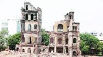 Councillor seeks quick action as walls of Nazarbaug Palace reduced to rubble