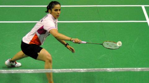 A dominant display in the second game by Saina left the Japanese girl gasping for breath. (Source: IE File)