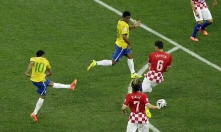 FIFA World Cup: It's that man Neymar, again