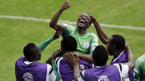 Nigeria's huge, football crazy population, coupled with country's povery means a World Cup win will bring them the greatest joy. (Source: AP)