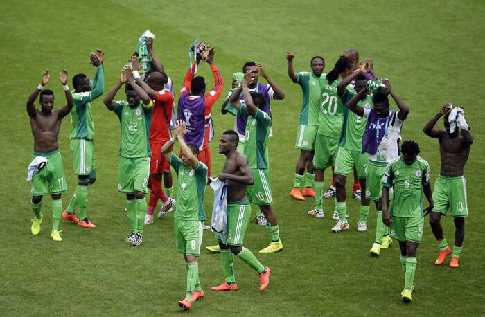 Despite the loss, Nigeria won the hearts of their supporters with a spirited performance against one of the major forces in football. (Source: AP)