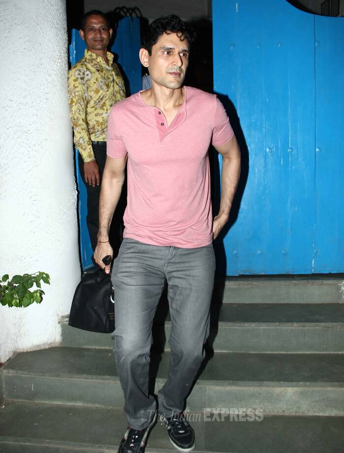 Bigg Boss famed model-actor Niketan Mandhok was also on the guest list. (Source: Varinder Chawla)