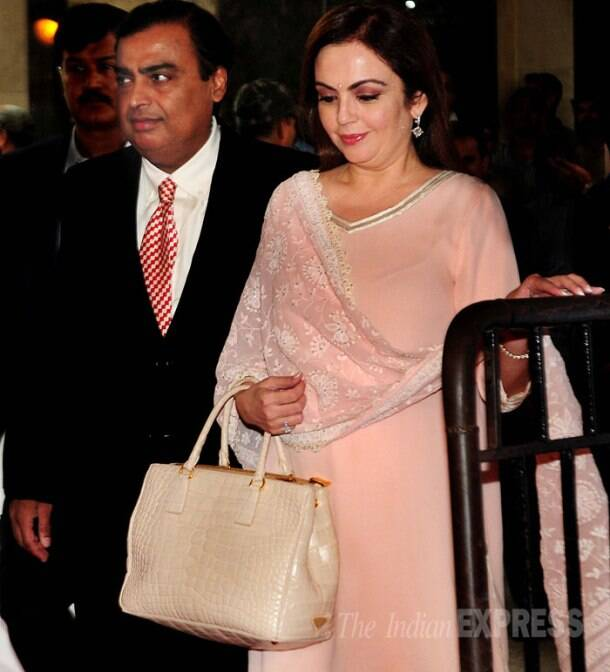 Mukesh Ambani, wife Nita, sons Anant and Akash attend RIL AGM meet