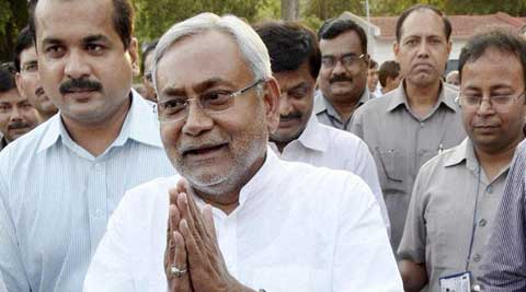 Bihar Chief Minister Nitish Kumar. (Source: PTI)