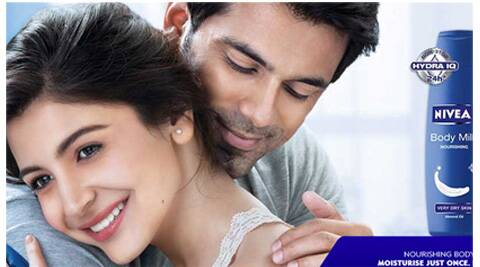 Nivea is the sixth major FMCG brand to set up base at Sanand. (Picture of Anushka Sharma courtesy Nivea website)