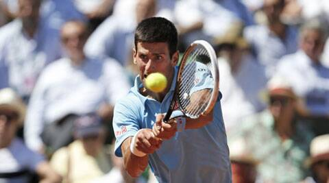 Djokovic defeated Ernests Gulbis 6-3, 6-3, 3-6, 6-3 to reach the French Open finals. (Source: AP)