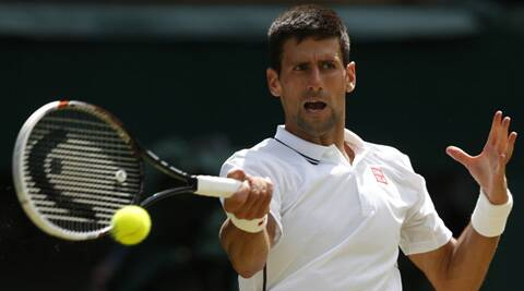 Djokovic defeated Simon 6-4, 6-2, 6-4 at Centre Court on Friday. (Source: AP)