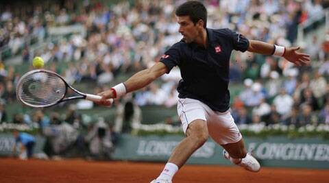 World No.2 Novak Djokovic dropped his serve just once in his 7-5, 7-6 (5), 6-4 win over Milos Raonic (Source: Reuters)