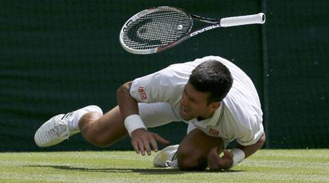 Djokovic had  a nasty fall late in the third against Simon on Friday. The Serb, however, resumed and packed off the Frenchman 6-4, 6-2, 6-4. (Source: Reuters)