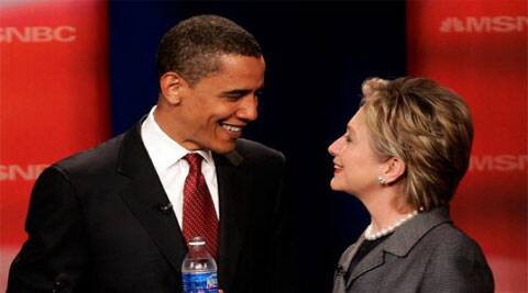 Clinton revealed details about a first, secret meeting with Obama prior to the 2008 Democratic convention. (Source: AP)