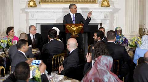 Obama said that Ramadan also reminds us of our shared responsibility to treat others as we wish to be treated ourselves. (File photo)