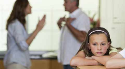 Children of divorced parents were 54 per cent more likely to be overweight and 89 percent more likely to be obese. (Source: Thinkstock)