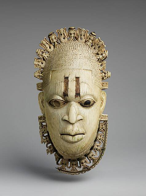 Queen Mother's pendant mask