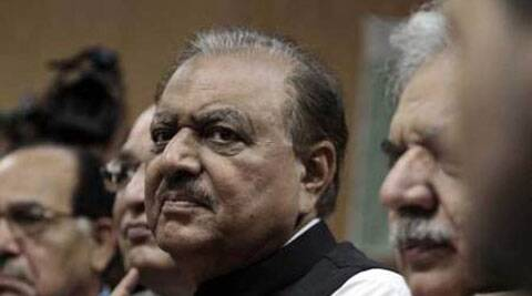 Pakistan president said that Kashmir issue should be resolved according to the UN resolutions and aspiration of the people of Kashmir.