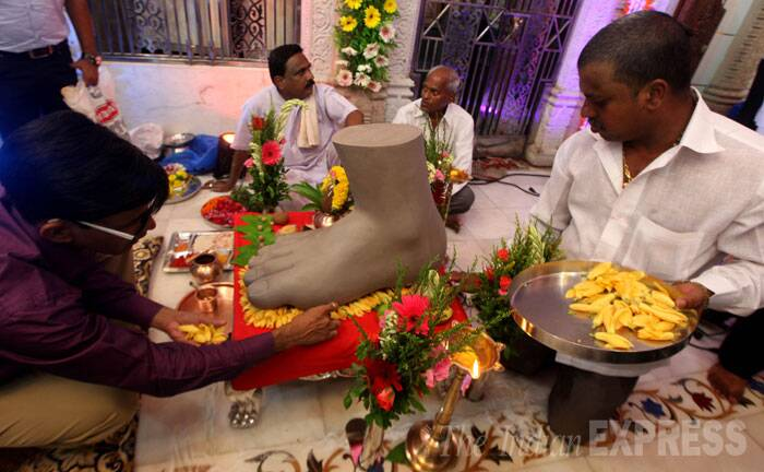 Preparations for Lalbaugcha Raja Ganeshotsav in full swing