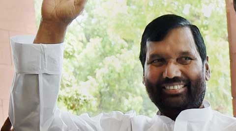 LJP chief Ram Vilas Paswan. (Source: PTI)