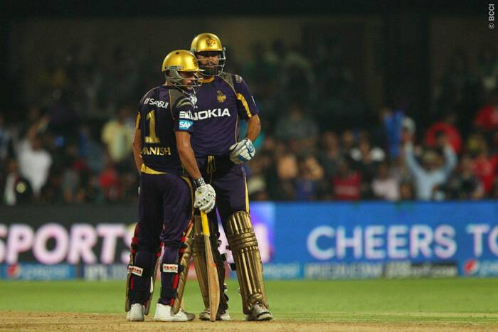 Yusuf Pathan, fastest to reach IPL fifty of 15 balls, was again in a murderous mood and launched an onslaught from the word go. Pathan scored 36 runs from 22 balls with four massive sixes in the innings and with Manish Pandey had a 72-run partnership off just 44 balls.
