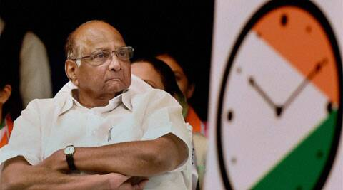NCP President Sharad Pawar. (Source: PTI)
