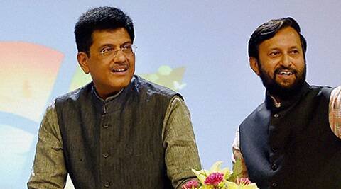 Union Ministers Piyush Goyal and Prakash Javadekar addressed the MPs on social media and media-related issues and told him how to cultivate these platforms to spread their message. Source: PTI