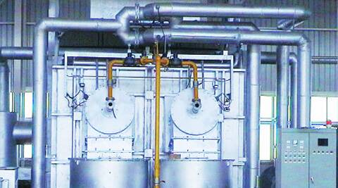 The plastic reclamation unit can generate a synthetic fuel for use in pump sets, generators and boilers. Source: Express Photo