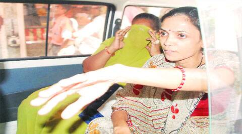 Saroj Prajapati who alleges her husband was attacked many times before he was killed. (FILE)