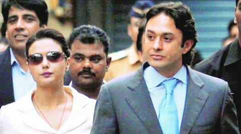 Preity Zinta, Ness Wadia. Source: File