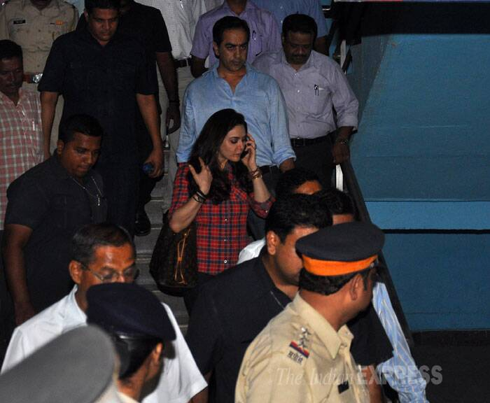 According to police, Preity had mentioned three arguments with Ness Wadia in her complaint at three different places inside the Wankhede Stadium on May 30. (Source: Varinder Chawla)