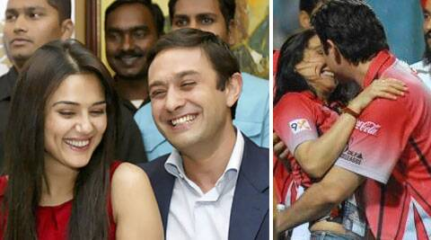 Preity Zinta was in a steady relationship with Ness Wadia.
