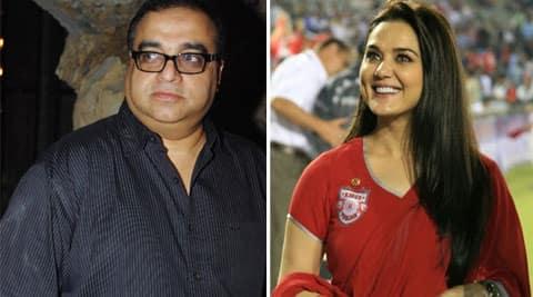 Rajkumar Santoshi stands in support of Preity Zinta.