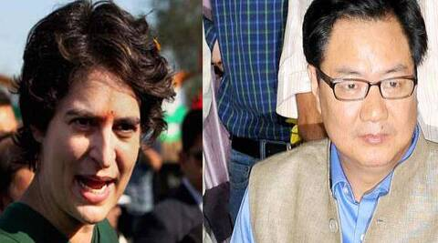 """Priyanka said Vadra's inclusion in the list was made at the instance of previous SPG chiefs and Delhi Police and not upon any request by """"either of us who were informed after the fact""""."""