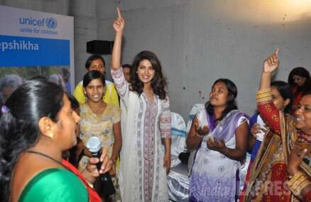 Priyanka Chopra makes time for a social cause, 'Fugly' cast watch their film
