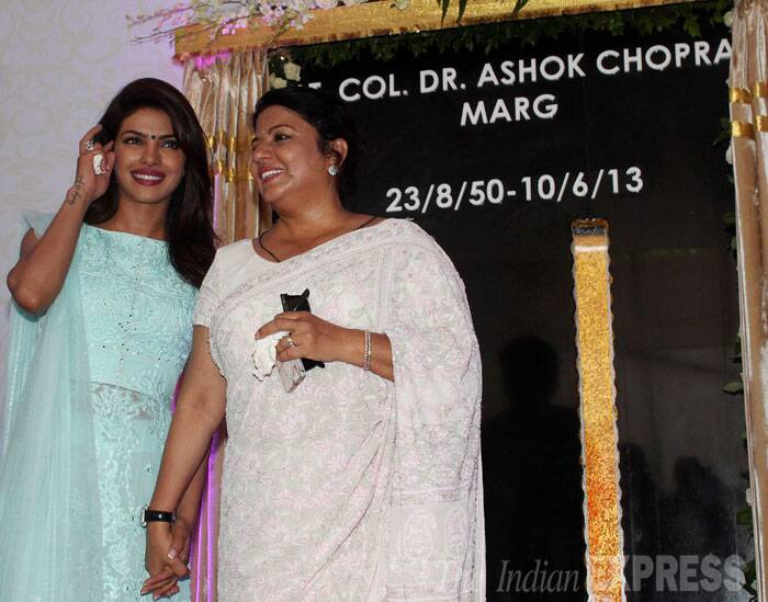 Priyanka Chopra unveils street named after father on his death anniversary