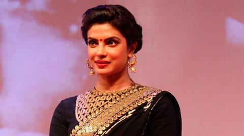 After celebrating rakhi with her brother Siddharth, Priyanka Chopra Sunday left for Chandrapur, over 900 km from Mumbai, for social work.