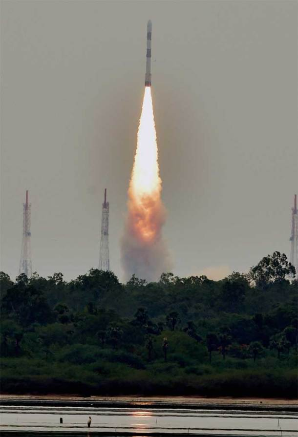 PM Modi lauds scientists as ISRO launches PSLV C-23 rocket from Sriharikota