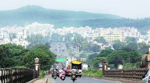 A view of the Pune skyline Photos: Express Archive